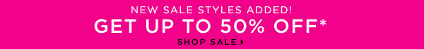 New Sale Styles Added - Get Up to 50% Off
