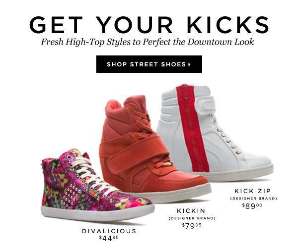 Kick Your Downtown Looks Up a Notch With High-Top Sneakers