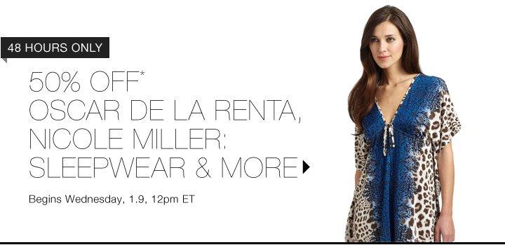 50% Off* Oscar De La Renta & More...Shop Now