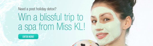 Win a Blissful trip to a Spa from Miss KL!