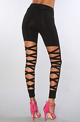 The Die Pretty Legging in Black (Exclusive)