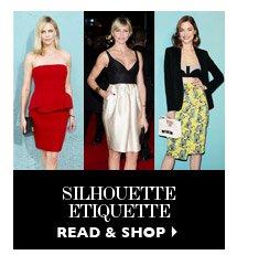 SILHOUETTE ETIQUETTE READ & SHOP