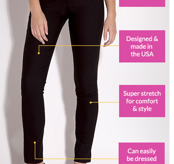 Twill Skinny Jeans
