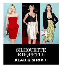 SILHOUETTE ETIQUETTE READ & SHOP