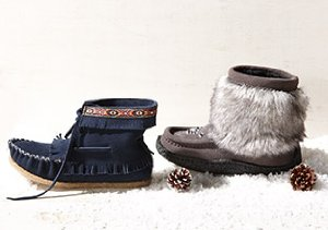 SNOW WEEKEND: KIDS' BOOTS, MOCCASINS & MORE