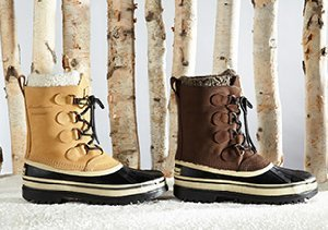 SNOW READY: BOOTS
