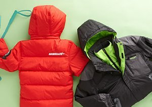 SNOW DAY: BOYS' JACKETS, VESTS & MORE