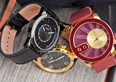 Shop Flud: Interchangeable Watches & Bags