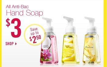 All Anti-Bac Hand Soap - $3
