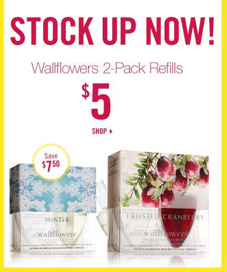2- Pack Wallflowers - $5