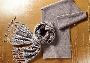 COLD WEATHER ACCESSORIES BY FORTE CASHMERE