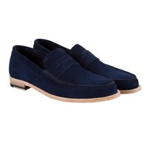 Paul Smith Shoes - Navy Max Loafers