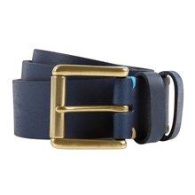 Paul Smith Belts - Navy Double Keeper Belt