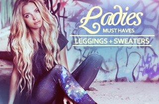 Ladies Must Haves: Leggings and Sweaters