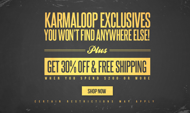 KL Exclusives! 30% Off + Free Ship when you spend over $200!