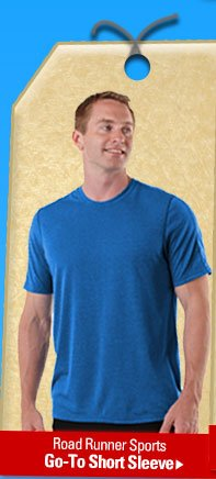 Road Runner Sports Go To Short Sleeve