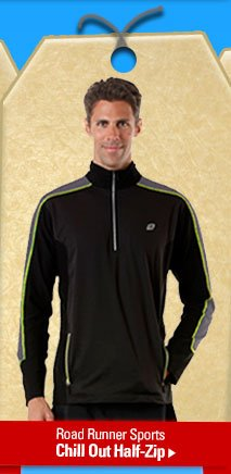Road Runner Sports Chill Out Half-Zip
