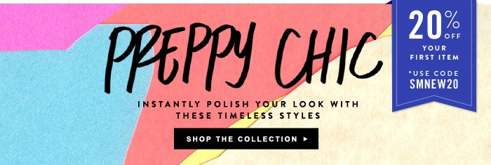 Preppy Chic - Instantly Polish Your Looks