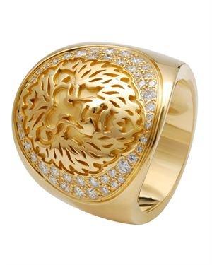 Carrera Y Carrera 18K Gold 2ct VVS E-F Diamond Ring $3,299