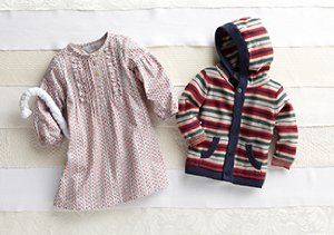 3-6 Months:  Apparel Gifts for Baby