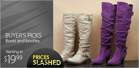 Buyer's picks Boots and Booties