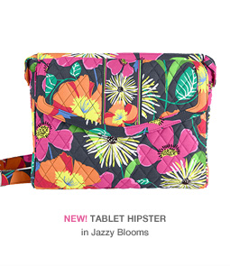 NEW! Tablet Hipster in Jazzy Blooms