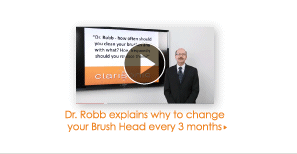 Dr. Robb explains why to change your Brush Head ever 3 months >