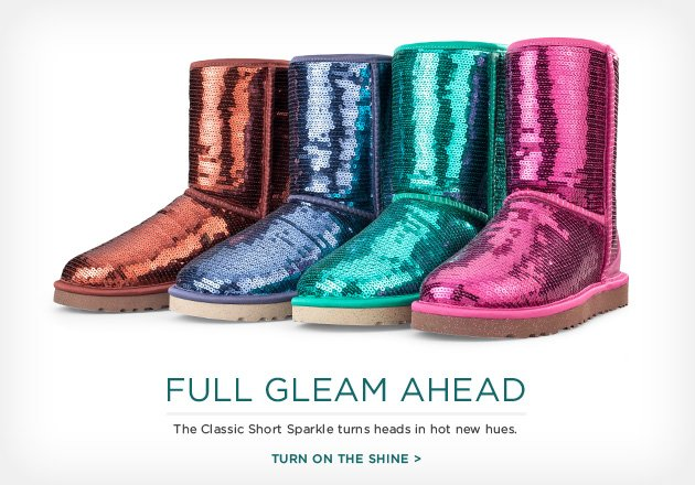 Full Gleam Ahead - The Classic Short Sparkle turns heads in hot new hues - Turn on the shine >