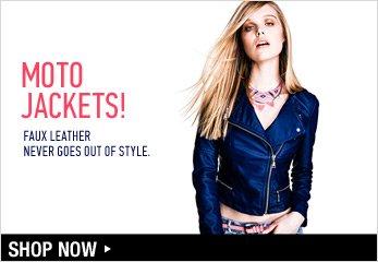 Moto Jackets - Shop Now