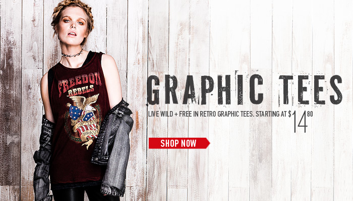 Retro Graphic Tees - Shop Now