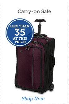 Carry-on Sale
