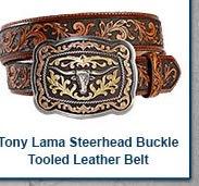 Tony Lama San Antonio Steerhead