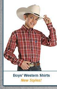 Boys Western Shirts
