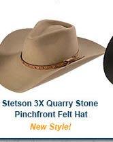 Stetson 3X Quarry