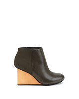 Solid Bootie Hi | Green