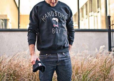 Shop Handsome Boy Graphic Tees & Crews