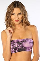 The Galaxy Bandeau in Purple
