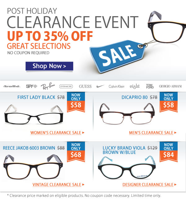 Post-Holiday Clearance - Stock Up Today!
