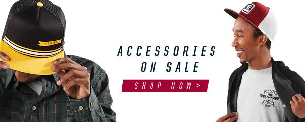 etnies accessories on sale