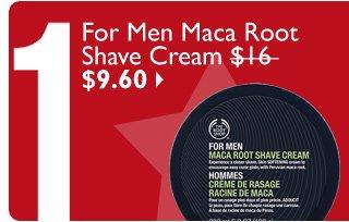 For Men Maca Root Shave Cream $16 $9.60