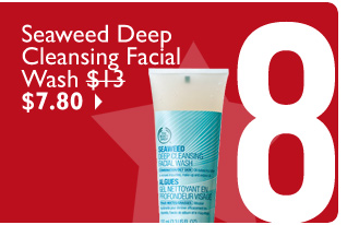 Seaweed Deep Cleansing Facial Wash $13 $7.80