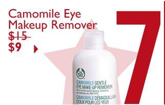 Camomile Eye Makeup Remover $15 $9