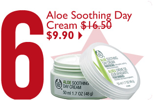 Aloe Soothing Day Cream $16.50 $9.90