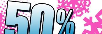 Shop 50% OFF Winter Blowout Sale!