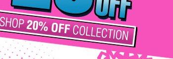 Shop 20% OFF Winter Blowout Sale!