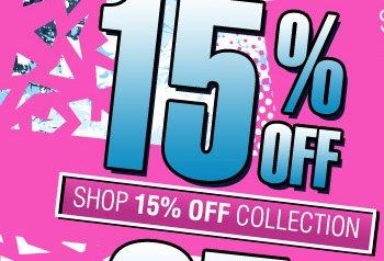 Shop 15% OFF Winter Blowout Sale!