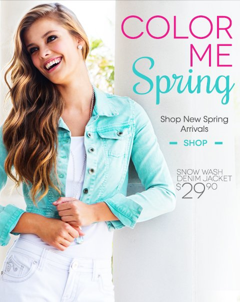Color Me Spring - Shop New Arrivals in store and online