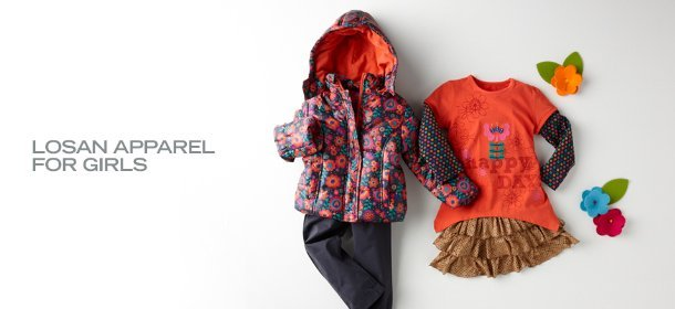 LOSAN APPAREL FOR GIRLS, Event Ends January 13, 9:00 AM PT >