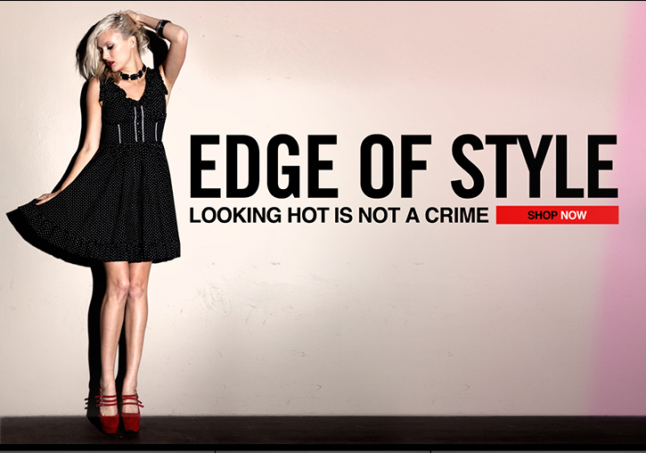 EDGE OF STYLE - LOOKING HOT IS NOT A CRIME