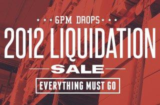 2012 Liquidation Sale